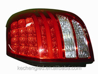 manufacture hot sale ce& rohs 2 years warranty car rear lamp universal chevrolet captiva led tail light