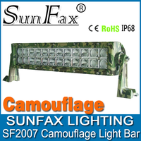 4x4 accessory! 13.5 inch 72w camouflage C REE led light bar, 4x4 offroad led light bars for truck,tractor, Jeep, atv, suv