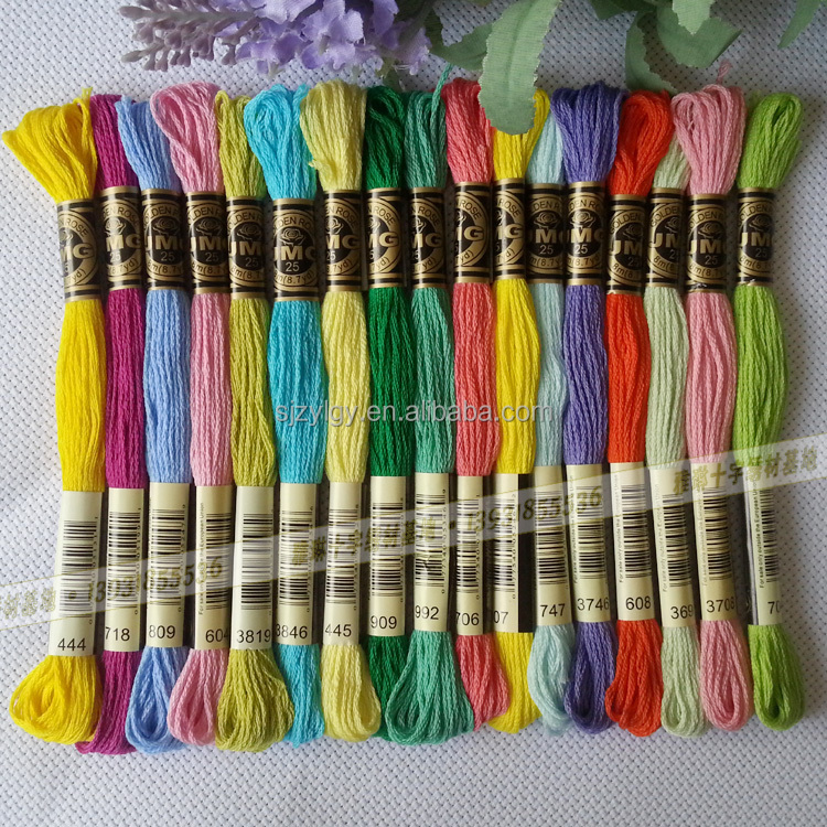 Embroidery thread brands makaroka