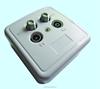 86mm UK 4 Pin TV/FM/SAT/SAT sat Socket Plate