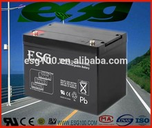 Maintance free 12v75AH sealed lead acid gel battery UPS battery