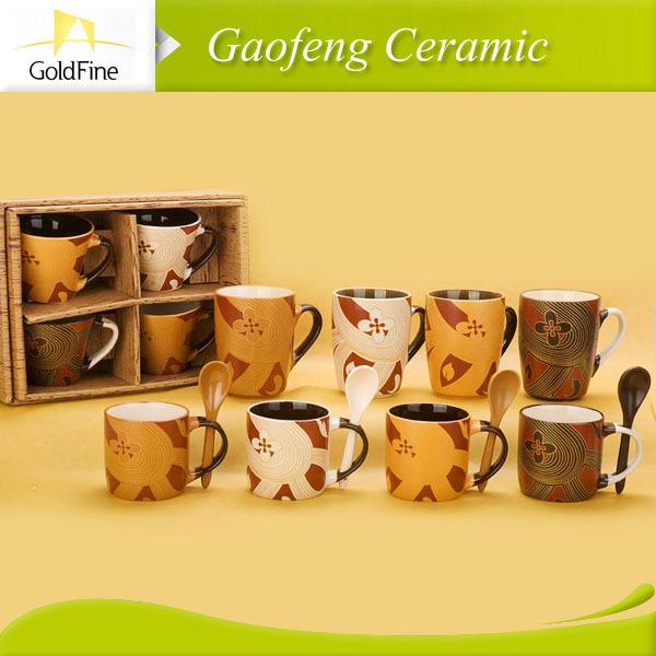 pintura caneca de cerâmica