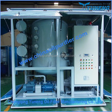Vacuum transformer oil treatment plant