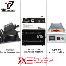 2014 Direct factory hottest sale vacuum oca lamination machine repair golden pair for phone screen glass refurbish