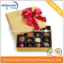 wholesale high quality custom design chocolate box truffles
