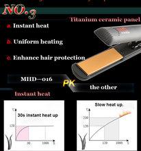 Adjustable Temperature Tourmaline Ceramic Super Smooth Hair Straightener Best Flat Irons
