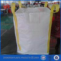 gunny bag,super sack,1 ton FIBC double warps fabric,crossing corner loops,any color choosen