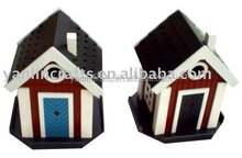 Beautiful wooden bird house