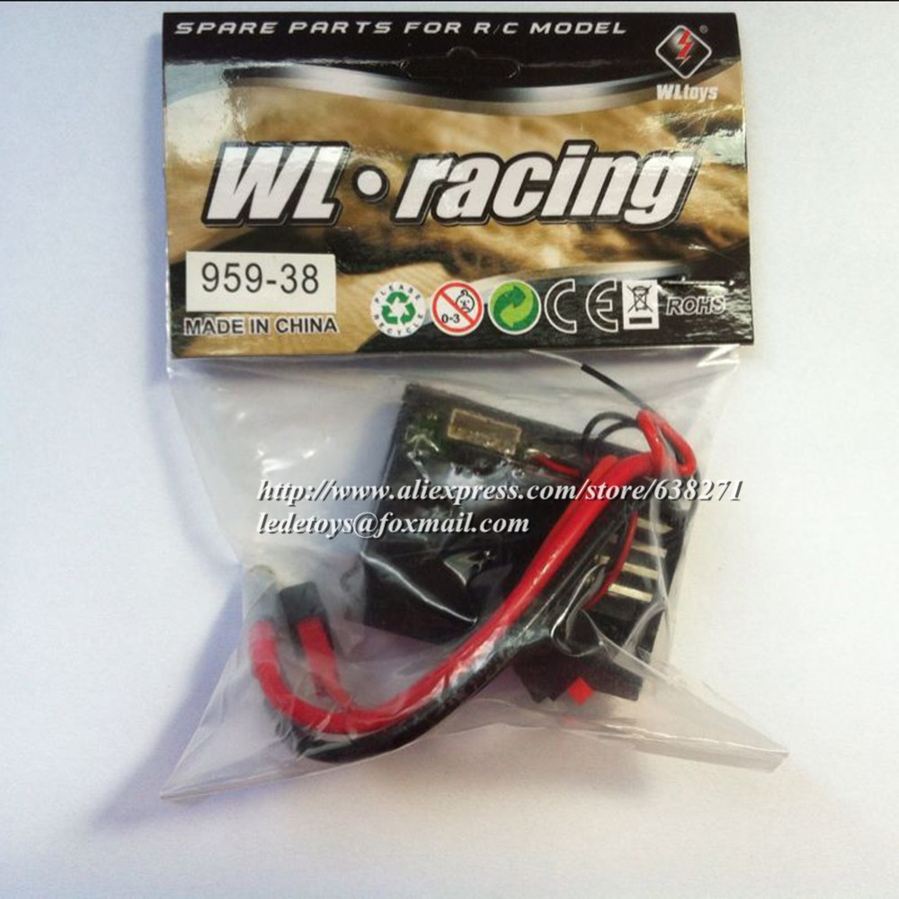 Wl Toys Accessory L959 L303 Mainboard 24g Receiver Box For 4wd Wltoy Pcb Main Board Circuit Spare Parts Rc Hobby Buggy Car Us571