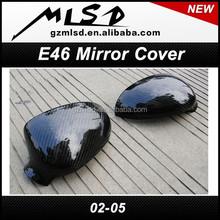 E46 mirror cover Carbon fiber mirror cover for 2002-2005