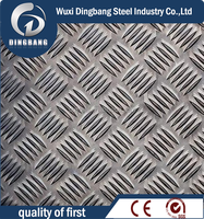 high quality checkered stainless steel plate grade 304