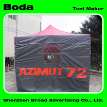 Advertising stable custom trade show pop up canopy/tent