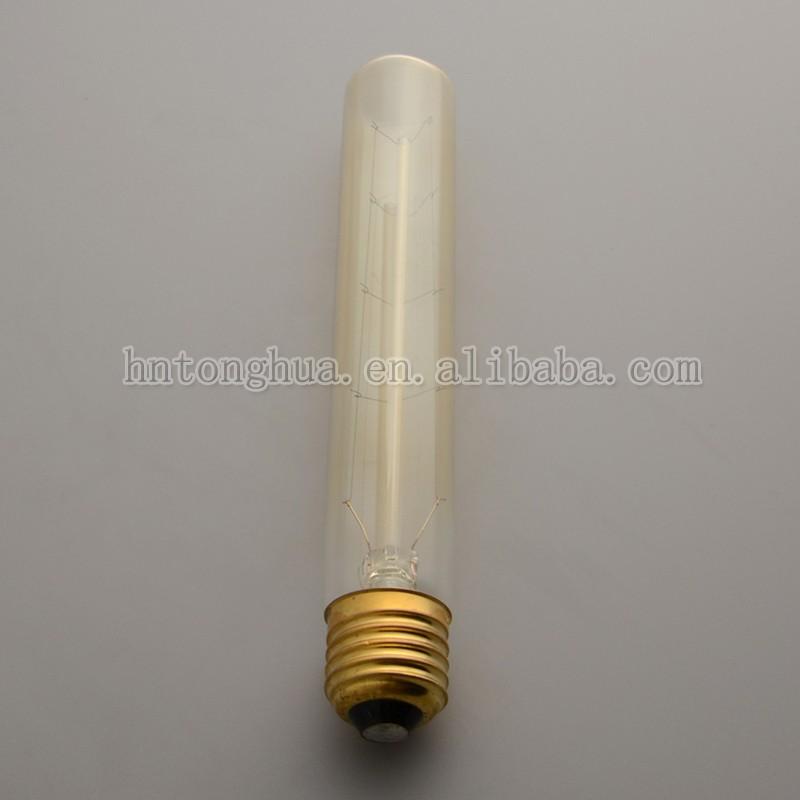 Buy Incandescent Bulb E27 40w Ac 110v T45 Tungsten: T30-185mm E26 E27 40w 60w Edison Tungsten Filament Bulb