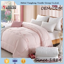 Modern bed comforter popular duvet comforter light soft cotton comforter