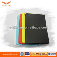 For ipad 5 tablet shockproof case made from soft and elastic silicone
