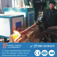 120KW Steel/iron rods bolts forge heating induction equipment