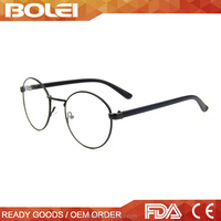 Through CE and FDA Made in China metal alloy optical frame