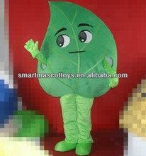 100% in kind shooting hand made plush maple leaf mascot for party fit all adult unisex leaf mascot