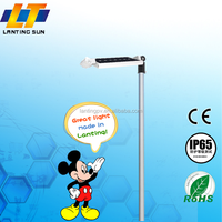 2015 new design customized led high end solar garden light outdoor with high quality and low price
