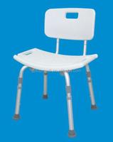 Aluminum Safety Bathroom Shower Bench Chair L Shape Chrome Bathtub Grab Rail- Grab Bar with shower spray for sale