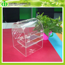 DDW-0061 Custom Clear Acrylic Candy Container Wholesale