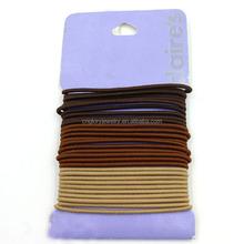 Factory wholesale fashion hair accessory classical thin hair elastic band