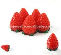 Strawberry Anti Dust Plug Cover Ear Cap for iPhone Smart Phone 1 pc