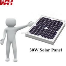 Mono Mini 30W Solar Panels Used for Street Lights