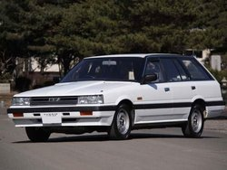 1986y Nissan Skyline Excel Wagon , 58000km ! , white , one owner