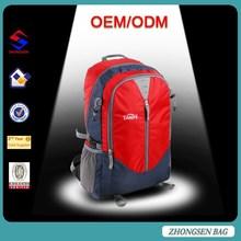 High quality travel hiking backpacks bags/durable travel sport bag