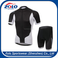 Custom Made Short-sleeved Sets Breathable Sublimation Printing Cycling Wear
