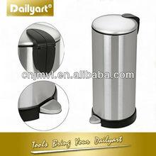 Huge style stainless steel office Paper Basket(V011009 27L)