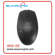 2.4G Nano Cordless Optical Mouse Wireless Mouse Black