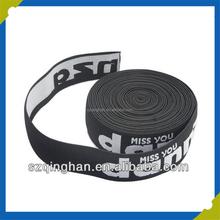 Customized high elastic polyester or nylon elastic band for underwear