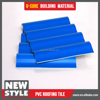 3m length clear plastic polycarbonate sheets with special shape