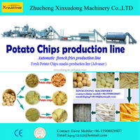 KFC French fries&potato chips&banana chips frying production line