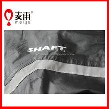 100% waterproof high quality polyester reflective rain poncho