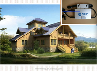 home rooftop panel system use micro inverter MPPT