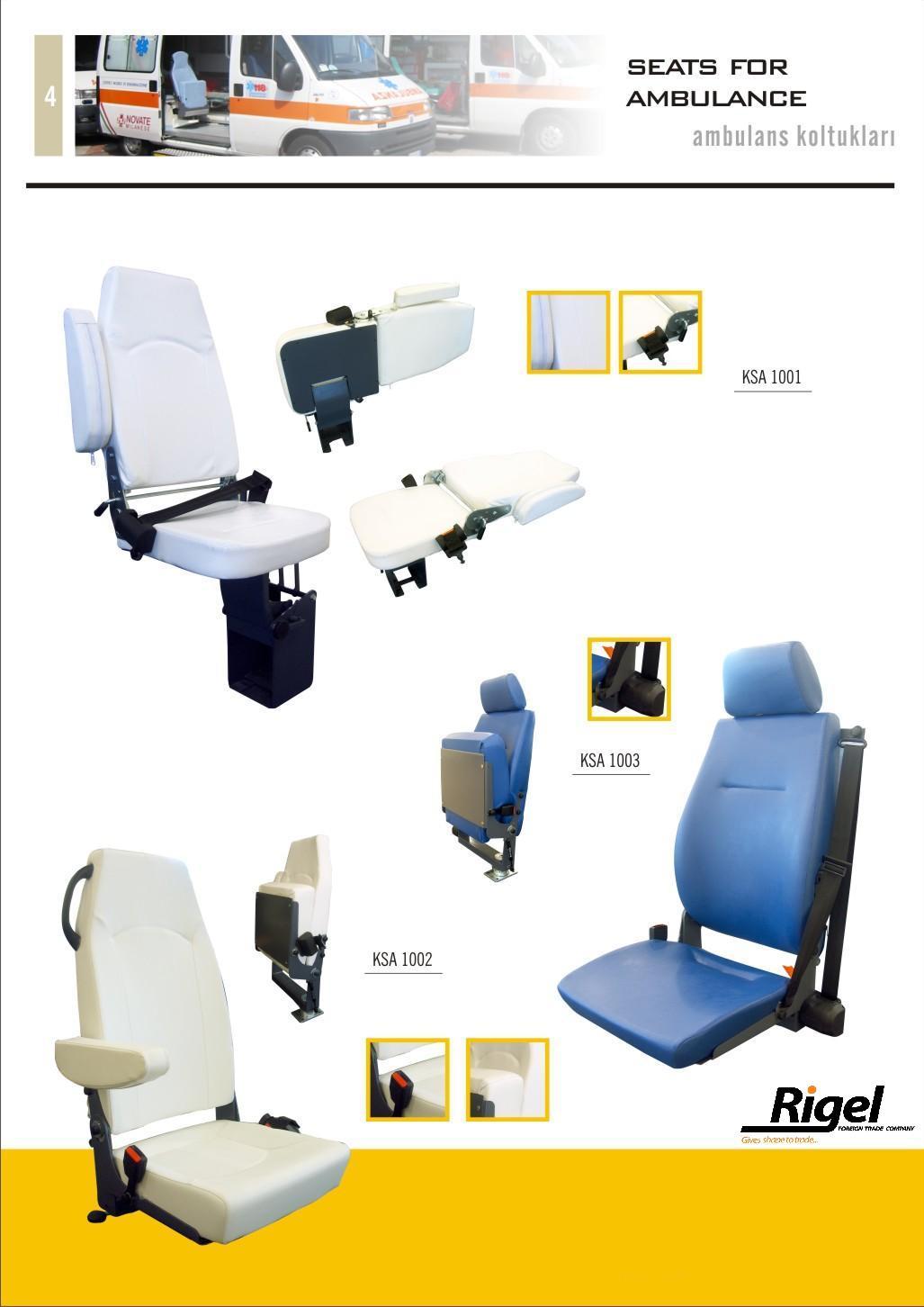 Ambulance Seats And Parts