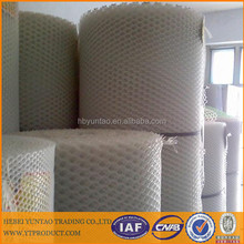 White Plant Support Netting Mesh For Pea / Bean Hdpe Extruded Netting