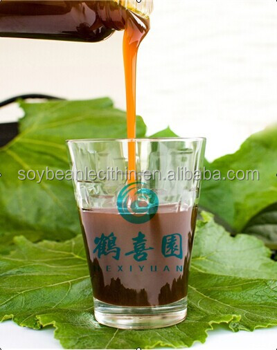 HXY-1H Industrial grade soya lecithin liquid soybean extract Fatliquor agents