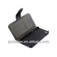 For iphone 5 wallet case Man/Women Purse Card Holder Flip Leather Wallet Case for iphone 5 iphone 5s