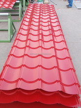 galvanized color steel roof tile