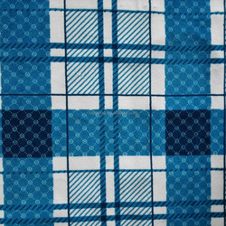 Manufacturers Supply 100% Polyester Steam Velour Printed Dots In Grid Fabric For Clothes,Garment,Sofa