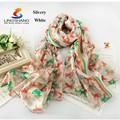 Lingshang LM1032 gros new style fashion design fille robe impression numérique foulard de soie