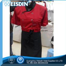 jinxinhao long sleeve black color stud buttons executive chef coat chef jacket chef uniforms