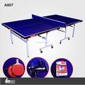 & plegable mesa móvil para juego de ping-pong
