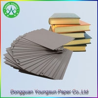 High quality laminated book binding board paper factory