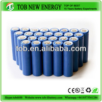 18650 Cylindrical Lithium ion battery/ 3.7v li-ion Batteries 1400mah