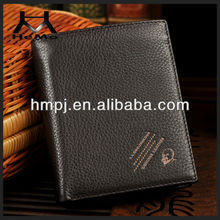 high quality genuine leather brand wallet hot selling